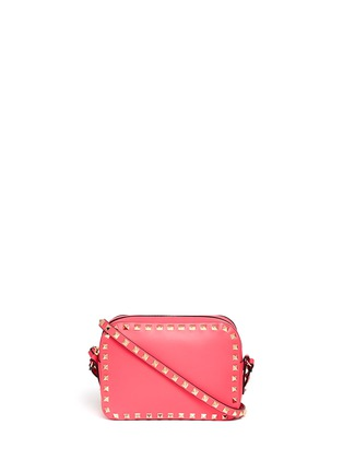 Main View - Click To Enlarge - Valentino - 'Rockstud' leather Camera Bag