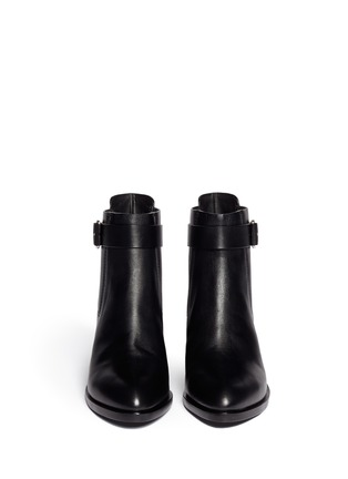 Figure View - Click To Enlarge - Alexander Wang  - 'Martine' leather buckle Chelsea boots