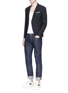Neil BarrettSlim fit stretch blazer
