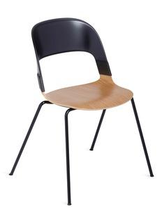 Republic of Fritz Hansen PAIR™ chair – Black/Oak