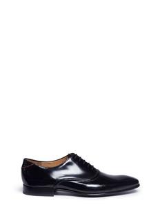 Paul Smith'Starling' spazzlato leather Oxfords