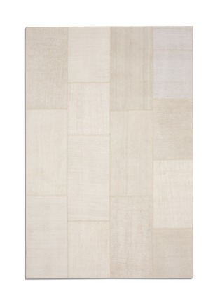 Main View - Click To Enlarge - Kinnasand - HEMP antique patchwork rug