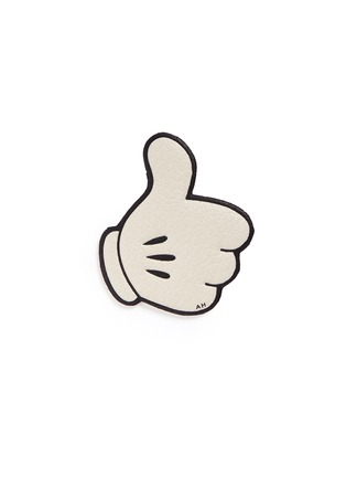 Anya Hindmarch-x CHAOS FASHION 'Mickey Thumbs Up' leather sticker