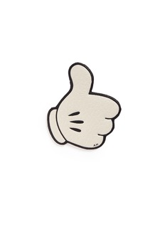 Anya Hindmarchx CHAOS FASHION 'Mickey Thumbs Up' leather sticker