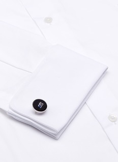 Paul Smith Embroidered camera silk twill cufflinks