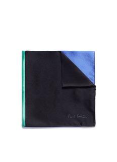 Paul SmithColourblock silk pocket square