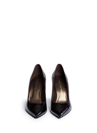 Front View - Click To Enlarge - Stuart Weitzman - 'Heist' dégradé patent leather pumps