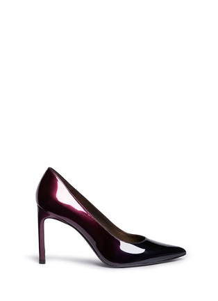Main View - Click To Enlarge - Stuart Weitzman - 'Heist' dégradé patent leather pumps