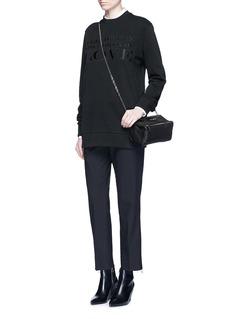 Givenchy'Pandora' mini chain goat leather bag