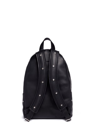 Back View - Click To Enlarge - Givenchy - Small cross stud leather backpack