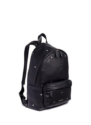 Figure View - Click To Enlarge - Givenchy - Small cross stud leather backpack