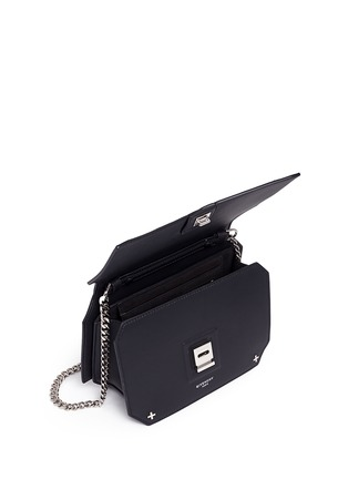 Detail View - Click To Enlarge - Givenchy - 'Bow Cut' cross stud leather crossbody bag