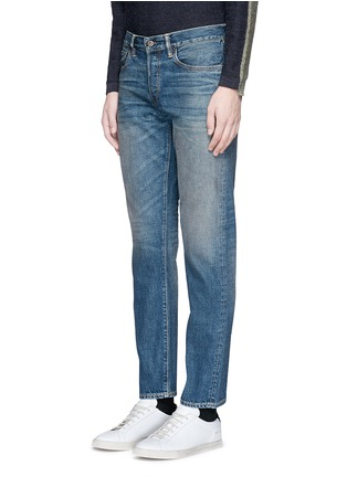 Front View - Click To Enlarge - Simon Miller - 'Park View' vintage medium wash slim jeans