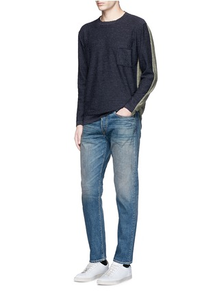 Figure View - Click To Enlarge - Simon Miller - 'Park View' vintage medium wash slim jeans