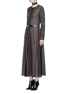 Lanvin Eyelet broderie anglaise dress