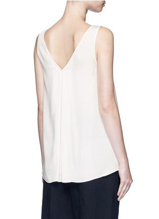 Theory-'Narcyz' V-neck silk shell top