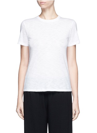 Vince - Heathered slub jersey T-shirt