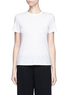 VinceHeathered slub jersey T-shirt