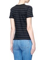 Stripe cotton jersey T-shirt