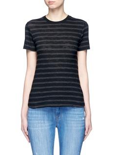 VinceStripe cotton jersey T-shirt