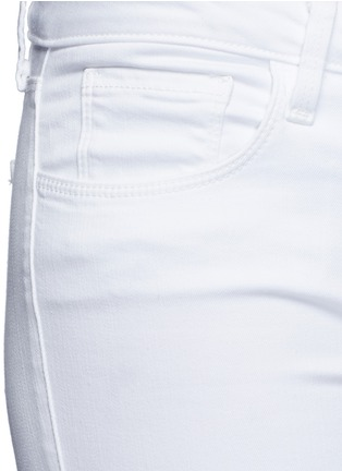 Detail View - Click To Enlarge - L'Agence - 'The Chantal' skinny ankle grazer jeans