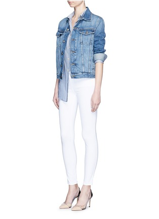 Figure View - Click To Enlarge - L'Agence - 'The Chantal' skinny ankle grazer jeans