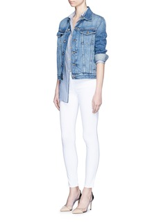 L'AGENCE 'The Chantal' skinny ankle grazer jeans