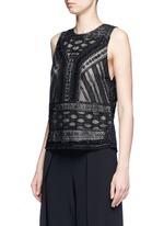 'Sharla' tribal sequin bead embellished top