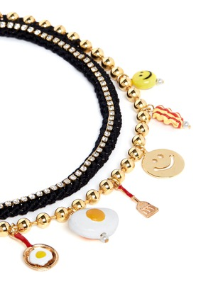 Detail View - Click To Enlarge - Venessa Arizaga - 'Breakfast Club' necklace