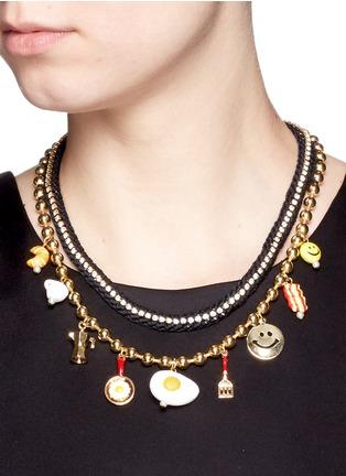 Figure View - Click To Enlarge - Venessa Arizaga - 'Breakfast Club' necklace