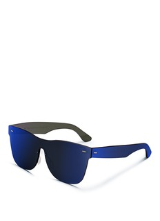 SUPER 'Tuttolente Classic Blue' rimless all lens sunglasses