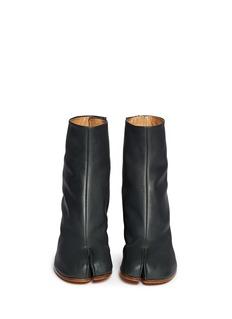 MAISON MARGIELA'Tabi' leather ankle boots