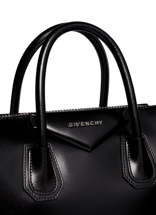 Detail View - Click To Enlarge - Givenchy - 'Antigona' small leather bag