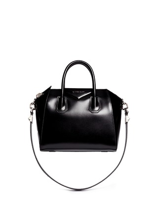 Main View - Click To Enlarge - Givenchy - 'Antigona' small leather bag