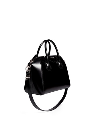 Figure View - Click To Enlarge - Givenchy - 'Antigona' small leather bag