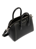 'Antigona' mini stud border leather bag