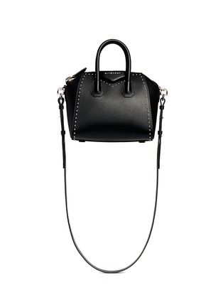 Givenchy - 'Antigona' mini stud border leather bag