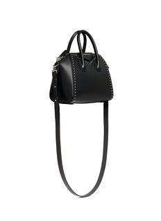 GIVENCHY'Antigona' mini stud border leather bag