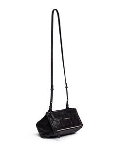 GIVENCHY'Pandora' mini washed lambskin leather bag