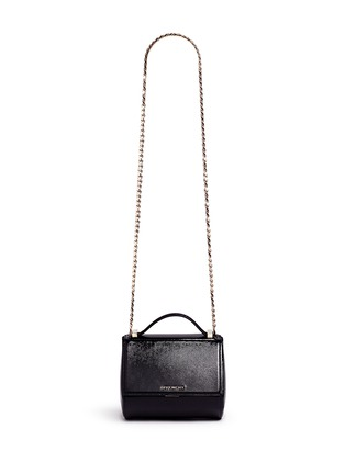 Givenchy - 'Pandora Box' mini saffiano patent leather chain bag