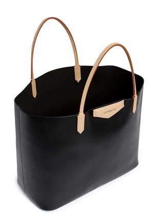 Detail View - Click To Enlarge - Givenchy - 'Antigona' large leather shopping tote