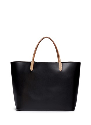 Back View - Click To Enlarge - Givenchy - 'Antigona' large leather shopping tote