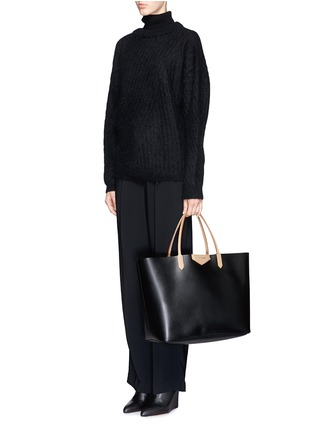 Figure View - Click To Enlarge - Givenchy - 'Antigona' large leather shopping tote