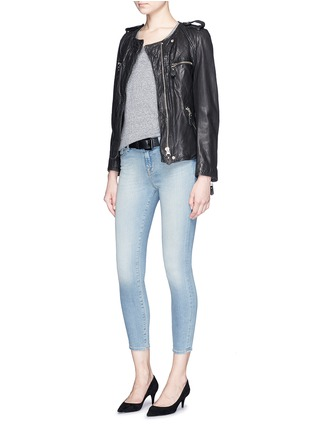 Figure View - Click To Enlarge - J Brand - 'Capri' cropped skinny jeans
