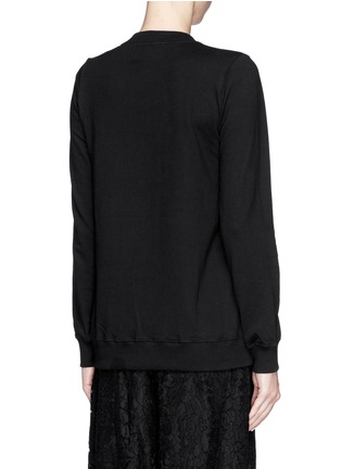 Back View - Click To Enlarge - MARKUS LUPFER - 'Wow' sequin paillette Anna sweatshirt