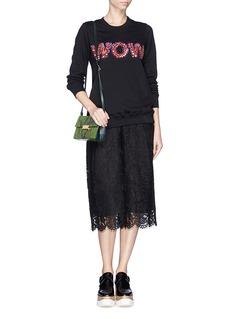 MARKUS LUPFER'Anna Wow' sequin paillette sweatshirt