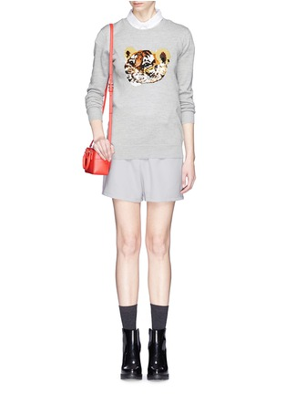 Figure View - Click To Enlarge - MARKUS LUPFER - 'Tiger Cub' sequin Natalie sweater
