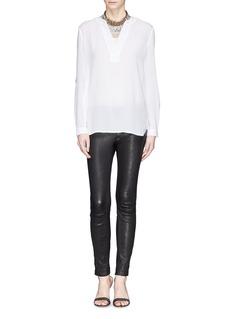 DIANE VON FURSTENBERG'Esti' cotton blouse