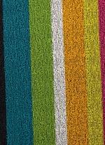 Shag Bold Stripe utility mat