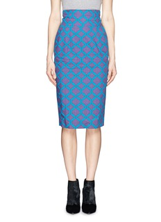 STELLA JEAN'Delfina' chain print pencil skirt